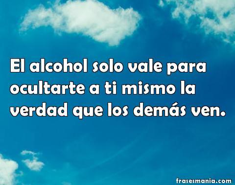 El estado de la alarma al alcoholismo