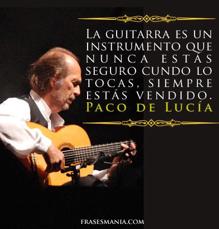La Guitarra Es Un Instrumento Que Nunca Frases