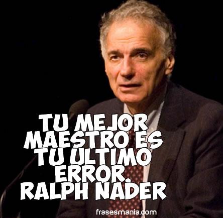 Ralph Nader on Civil Rights -