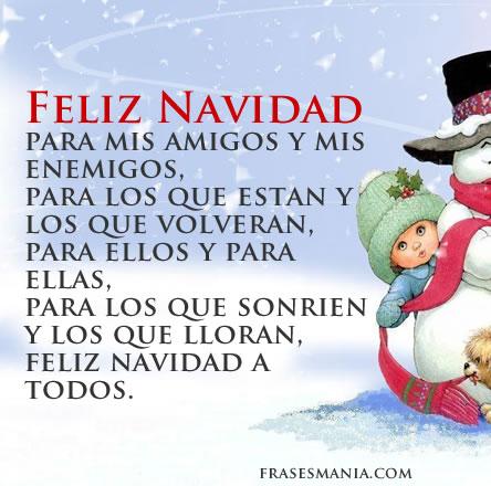 Para mis amigos y enemigos imagenes firmas d otero - Mensajes de feliz navidad ...
