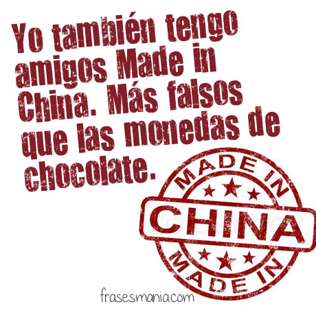 Amigos Made In China