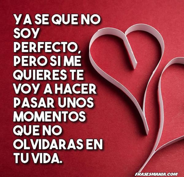 Frase del amor perfecto