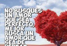 Frase del amor verdadero