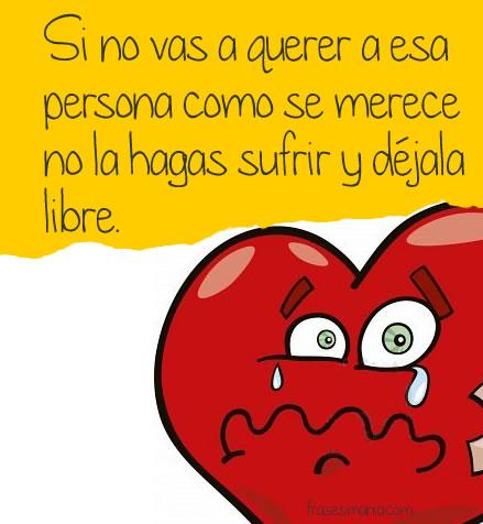 La tristeza del amor