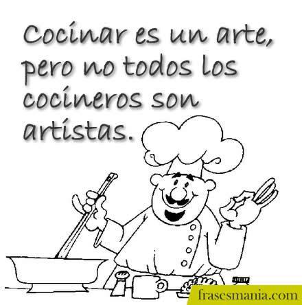 Cocinar es un arte