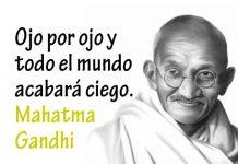Frase de Mahatma Gandhi